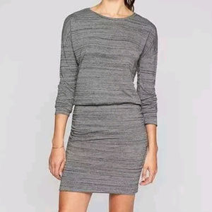 Athleta | Gray Marled Knit Avenues Dress A3